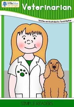 Community helpers book - veterinarian