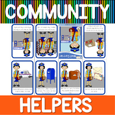 Community helpers mini book - mail carriers