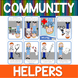 Community helpers mini book - nurse