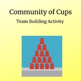Community of Cups (FREE) team building activity