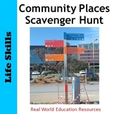 Life Skills in the Community - 'Can you find?' game