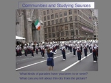 Community studies and Primary and Secondary Source Powerpoint