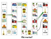 Community themed Snakes and Ladders- French/FSL/FLE