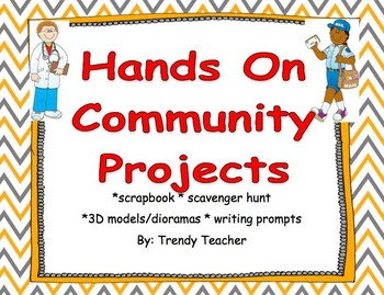 Communties Projects EDITABLE!!
