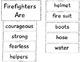 Communtity Helper Anchor chart: Firefighter