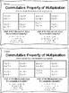 Commutative, Associative, Distributive Foldable/Practices
