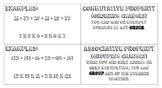 Commutative & Associative Property Foldable