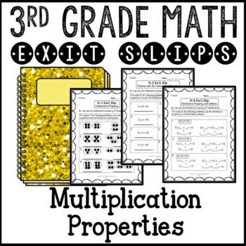 Commutative, Associative, and Distributive Properties Exit