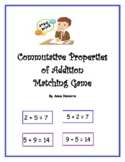 Commutative Properties of Addition Matching Game