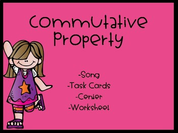 Commutative Property Activities