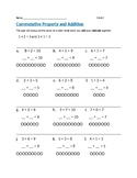 Commutative Property Addidtion