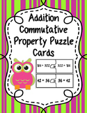 Commutative Property (Addition) Puzzle Cards