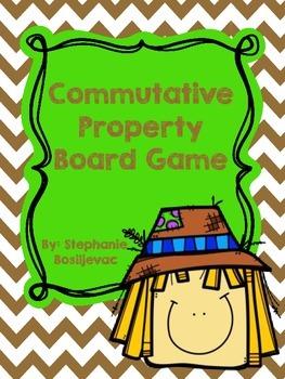 Commutative Property (Fall Theme)