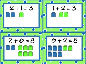Commutative Property Matching Cards, Facts 0-10