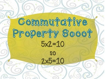 Commutative Property Multiplication Scoot {CC Aligned}