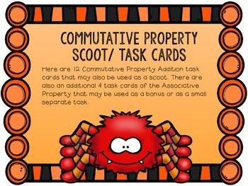 Commutative Property Of Addition SCOOT/ Task Cards
