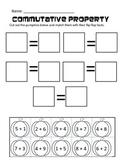 Commutative Property Pumpkin Match