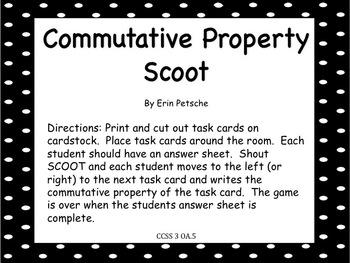 Commutative Property Scoot