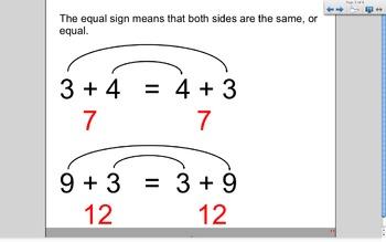 Commutative Property (Smartboard Lesson)