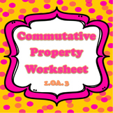 Commutative Property/ decomposing numbers {CCSS aligned}