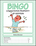 Commutative Property of Addition Bingo Game