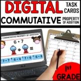 Commutative Property of Addition DIGITAL TASK CARDS