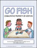 Commutative Property of Addition Go Fish Game ★ FREEBIE ★