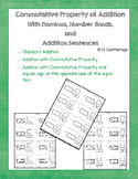 Commutative Property of Addition Number Bond