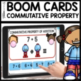 Commutative Property of Addition BOOM CARDS Distance Learning