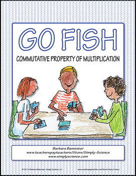 Commutative Property of Multiplication Go Fish Game