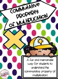 Commutative Property of Multiplication Introduction with Practice