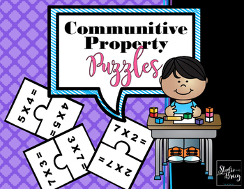 Commutative Property of Multiplication Puzzle