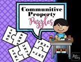 Commutative Property of Multiplication Puzzle