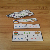 Commutative Property of Multiplication Game 3rd Grade Math Review Activity 3.OA5