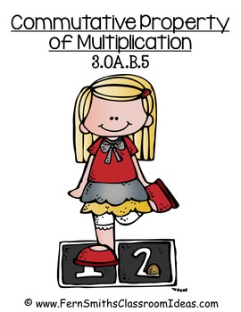 3rd Grade Go Math 3.6 Commutative Property of Multiplication Center Game