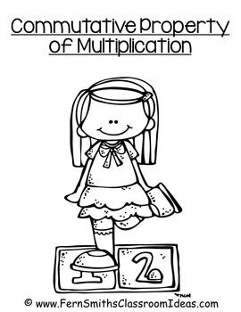 3rd Grade Go Math 3.6 Commutative Property of Multiplication Center Game