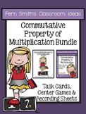 3rd Grade Go Math 3.6 Commutative Property of Multiplication Task Cards & Center