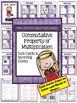 Commutative Property of Multiplication Task Cards, Recordi