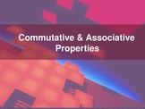 Commutative and Associative Properties PowerPoint