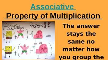 Commutative and Associative Property