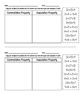 Commutative and Associative Sort