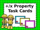 Commutative/Identity Property of Addition & Multiplication