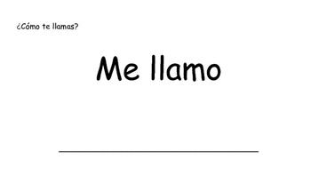 Como Estas? How are you? Activity-Spanish
