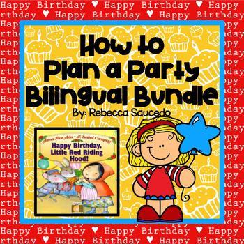 Sequencing and Procedures Bilingual Bundle