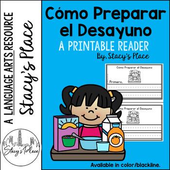 Spanish Guided Reading/Cómo Preparar el Desayuno/Spanish Ordinal Numbers
