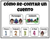 Como Recontar Un Cuento_ Retelling in Spanish