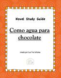 Como agua para chocolate: A Novel Study Guide