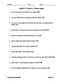 Como agua para chocolate - Capítulo 12 - Preguntas de comprensión