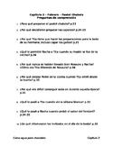 Como agua para chocolate - Capítulo 2 - Preguntas de comprensión