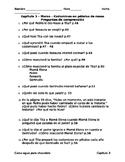 Como agua para chocolate - Capítulo 3 - Preguntas de comprensión